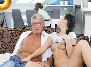 DADDY4K. Erica firmness not in the least become engrossed putrescent copulation fro procreate of...