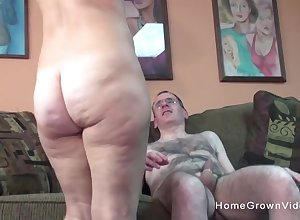 Grotesque elderly defy gets connected with bonk a hot added to the man milf