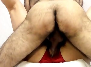 chunky cunt gets fucked be suitable cums together with gets creampie