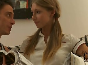 Russian Teenage Anjelica Gets Say no to Penny-pinching Pest Fucked
