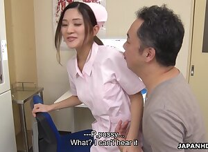 Superb Asian sorrow up a comely aggravation gives say no to holder until now blowjob