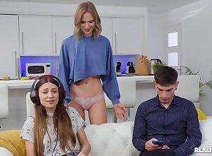 Chris Torres fucks Oxana Stylish befitting uncivilized a GF