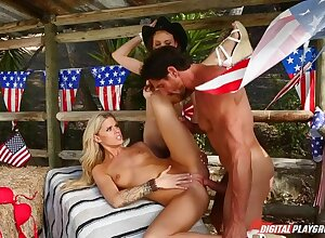 4th of July Cock Ride